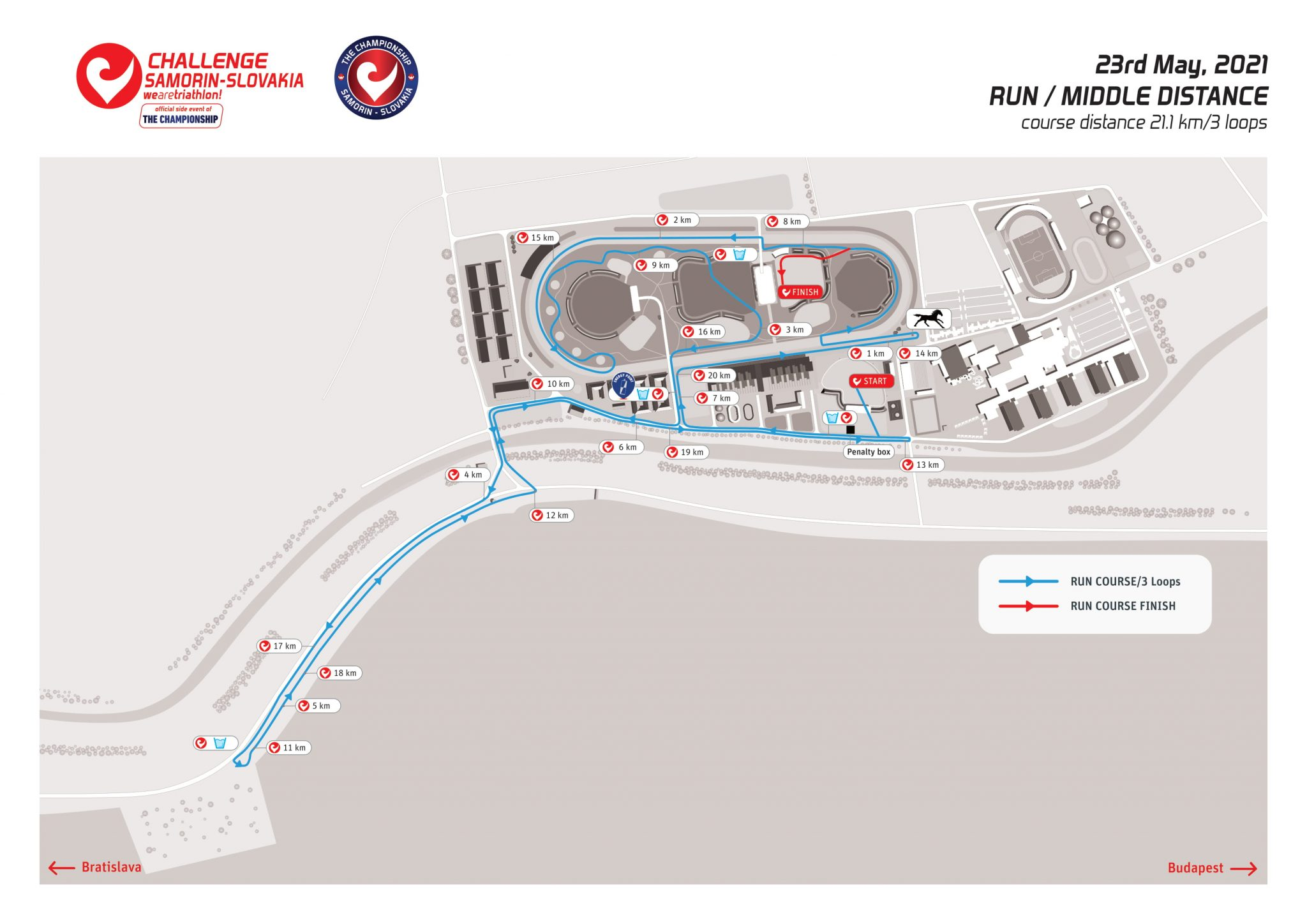 Challenge Samorin Middle Distance (open race)