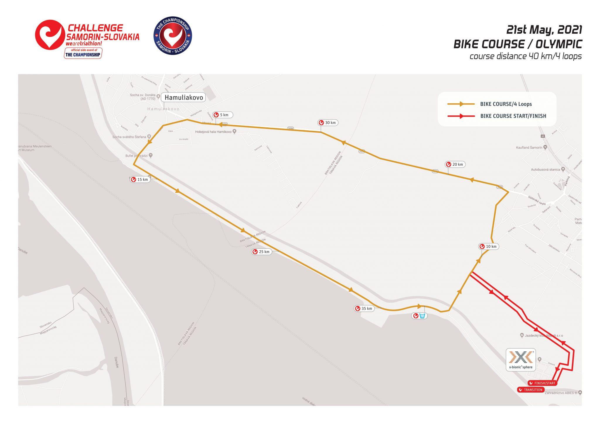 Challenge Samorin Olympic Distance